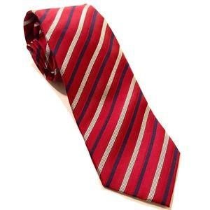 Pronto Uomo Couture silk striped tie NWT